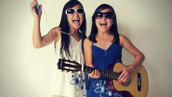 Sisters-singing