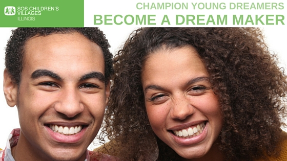 Become an SOS Children's Villages Illinois Dream Maker