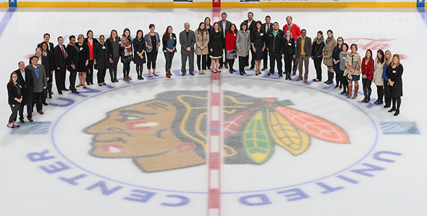 Chicago Blackhawks Charities Luncheon 2017