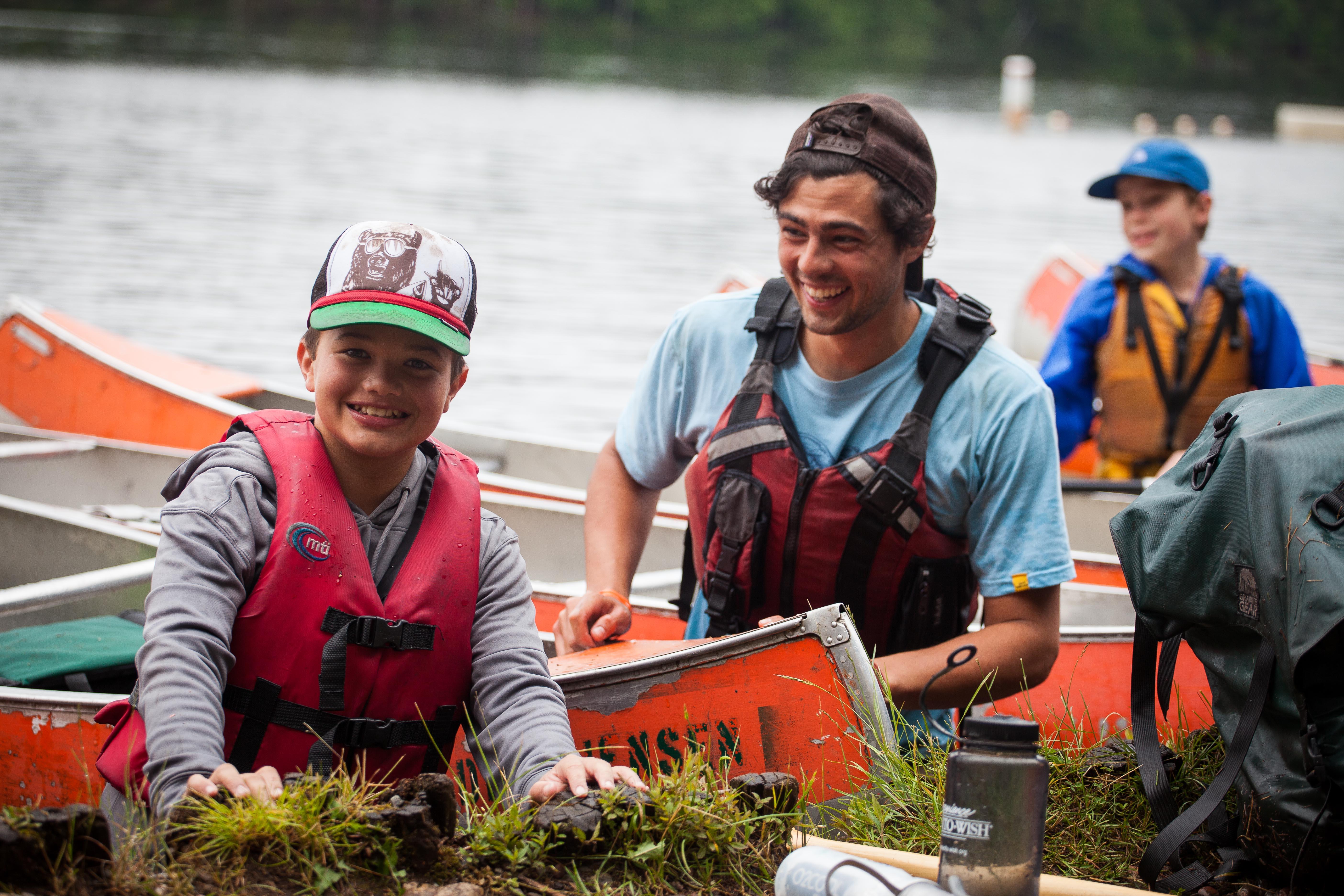 smiles canoe