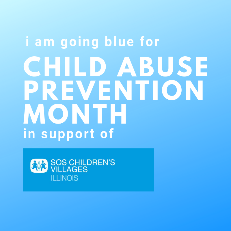 Blue for SOS Illinois Child Abuse Prevention Profile Pic