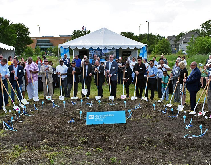 ground breaks at roosevelt
