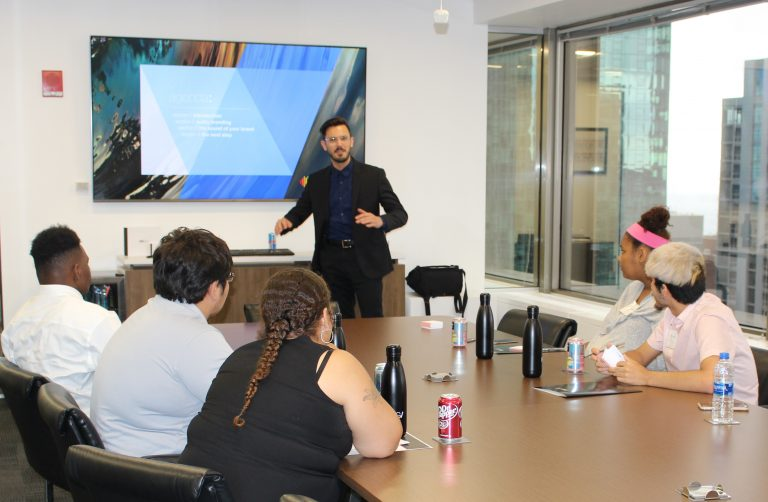 phmg staff hosts workshop with sos illinois youth