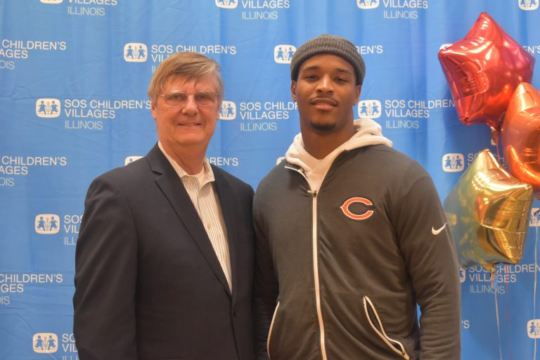 Deon Bush, Celebrates Thanksgiving 2019 with SOS Children's Villages Illinois featured