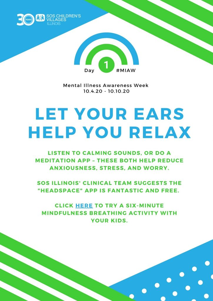 Let your hears help you relax